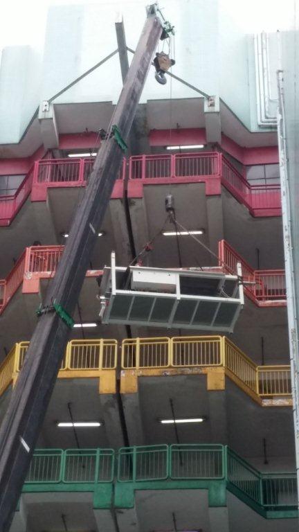 设备特种吊装进口报关案例4